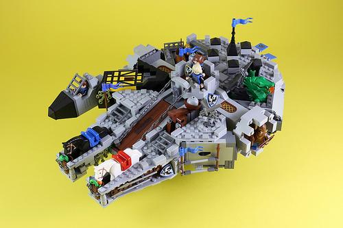 Flying Castle-Black Falcon