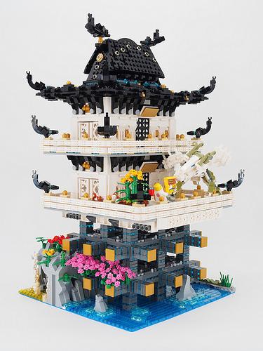 The Ninjago Movie - Master Wu's secret hideout