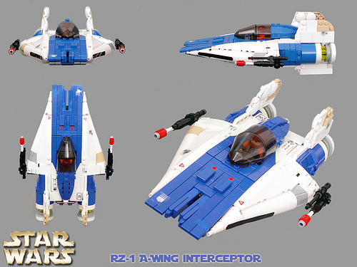 LEGO Star Wars RZ-1 A-Wing