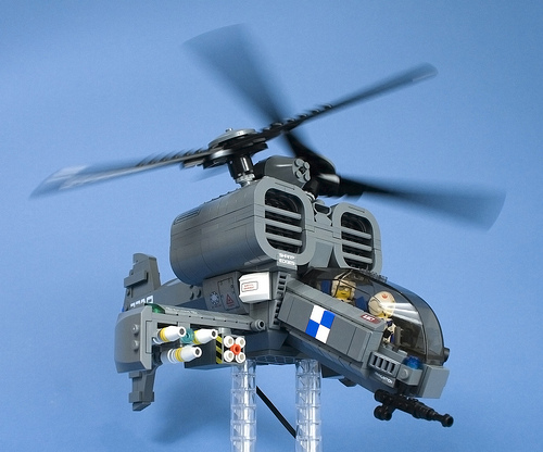 Iron Mountain Legion Attack Helicopter 7709