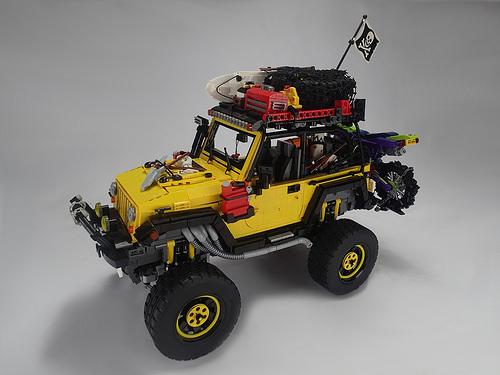Modified Jeep Rubicon