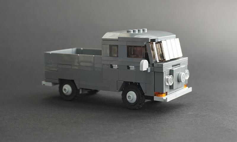 Lego 1967 Volkswagen T2 Doka - 01