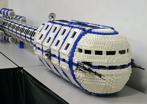 LEGO Tribunal SHIP