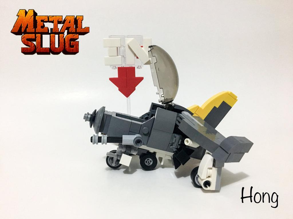 Moc Lego metal slug 戰鬥機