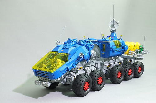 MCU Rover three-quarters view