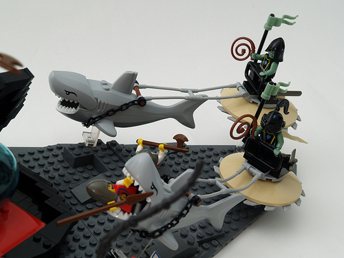 LEGO weird sharks castle