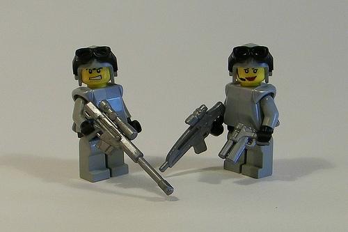Brickarms LEGO weapons guns swords