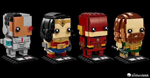 Justice League Brickheadz