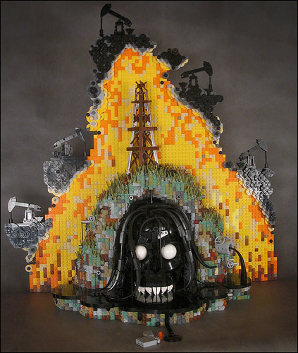 LEGO Art Oil Fossil Fuels