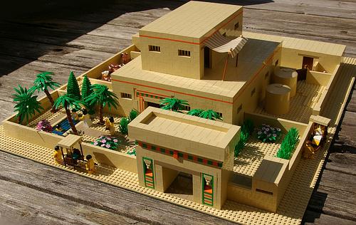 Higdon Egyptian villa