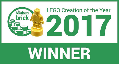 TBB LEGO Creation of the Year Winner 2017