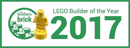 TBB LEGO Builder of the Year 2017