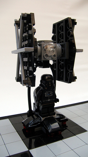 LEGO Star Wars chess set - TIE fighter