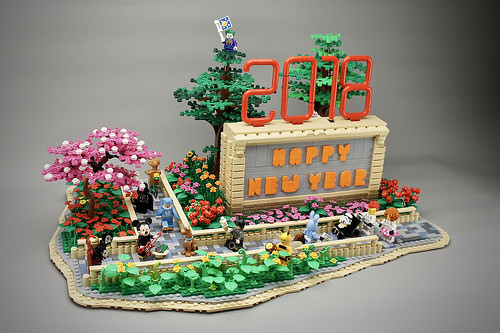 Lego Happy New Year 2018
