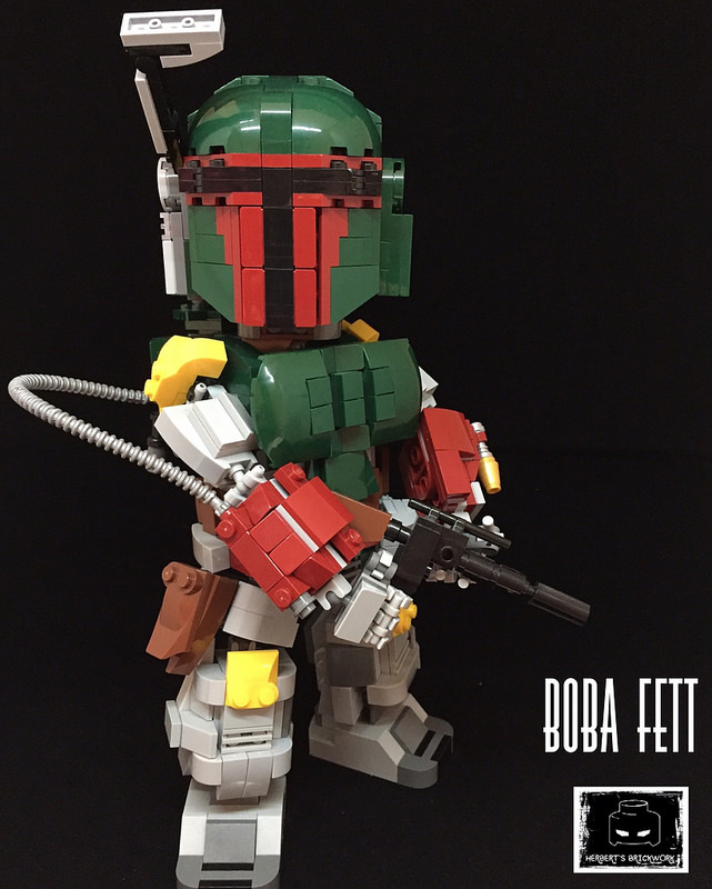 "Legendary Bounty Hunter "" Boba Fett"""