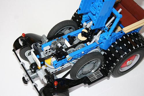 LEGO Lanz Eilbulldog