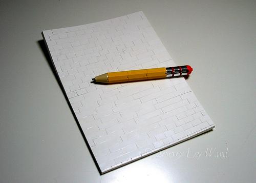 LEGO Paper Pencil
