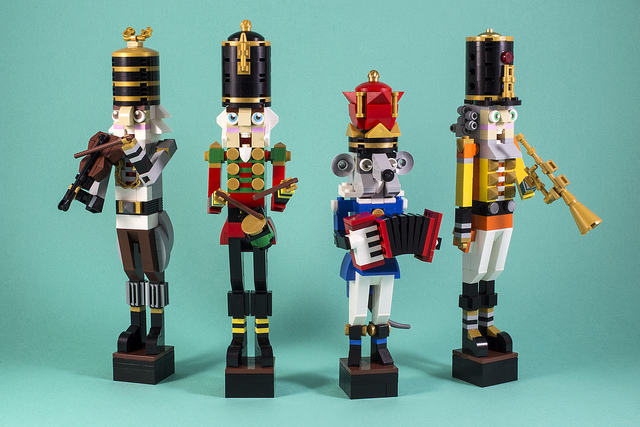 LEGO Nutcracker decorations