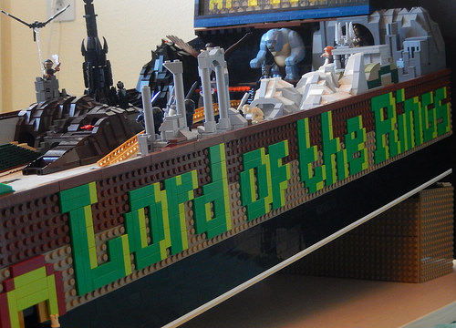 LEGO Lord of the Rings Pinball