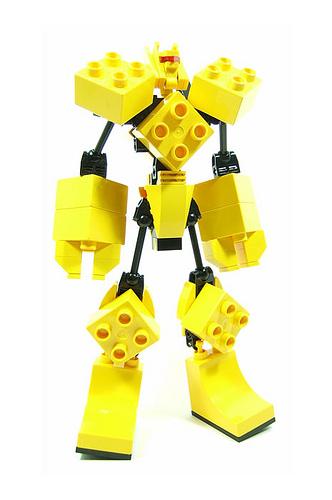 Mighty Doo-Plo LEGO transformer
