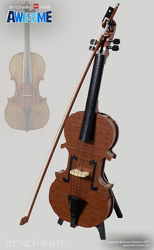 LEGO® brick Stradivarius Violin