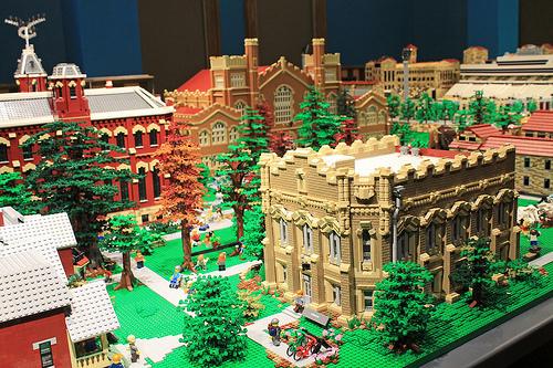 CU LEGO Campus Quad Area, CU Boulder, Colorado
