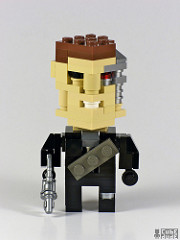 LEGO Cubedudes Starwars Marvel Terminator Superheros