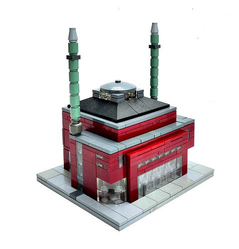 LEGO Erik Smit .eti micro mosque