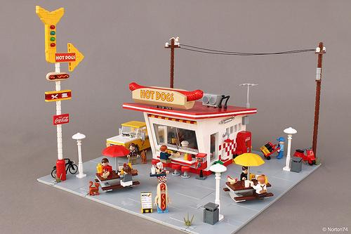 LEGO 50s Diner