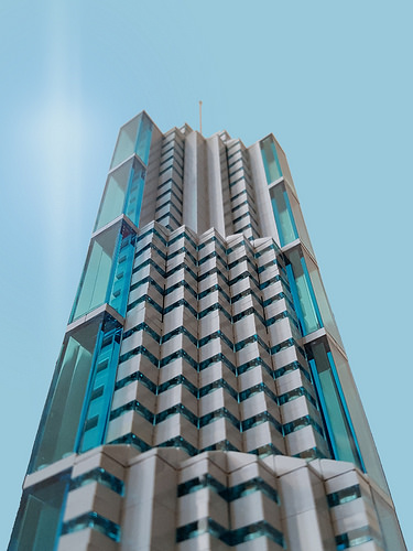 Bank Tower MOC in the sky