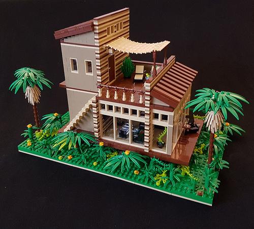 Cocoa Jungle Cottage MOC (I)