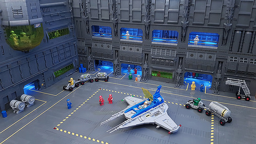 Classic Space Hangar