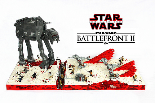 ~LEGO Star Wars Battlefront 2 Battle Of Crait from The Last Jedi~