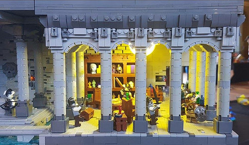 Volsung Hall (Brickvention 2018 Collab Ben and Eli)