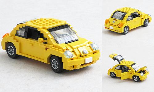 Volkswagen New Beetle updated