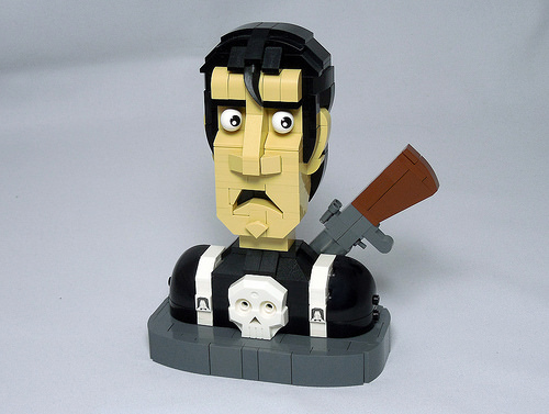 The Punisher Bust