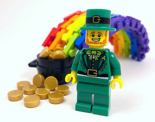 Happy St Patrick's day #lego
