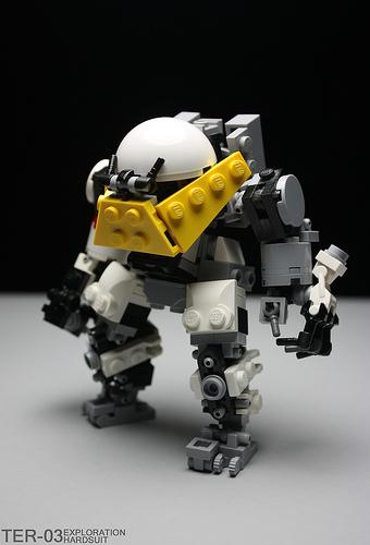 LEGO hardsuit