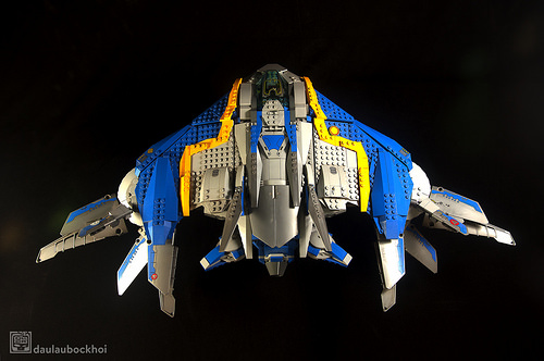 Lego GUARDIANS OF THE GALAXY: THE MILANO SPACESHIP