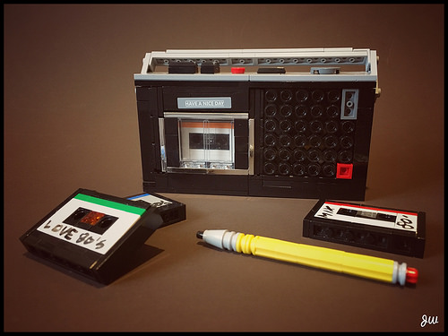 Old Cassette Recorder From Early 80's MK 232