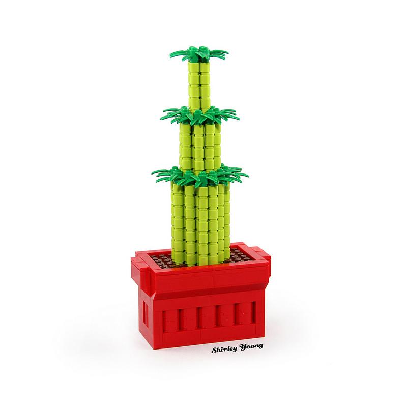 LEGO Lucky Bamboo (Life-size)