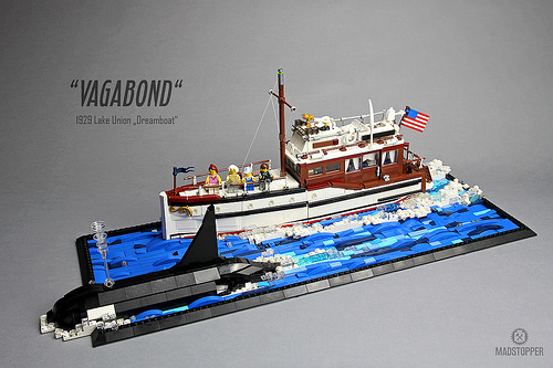 "Lake Union Dreamboat ""Vagabond"""