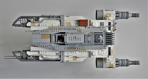 Ryder's U-wing (Top View)