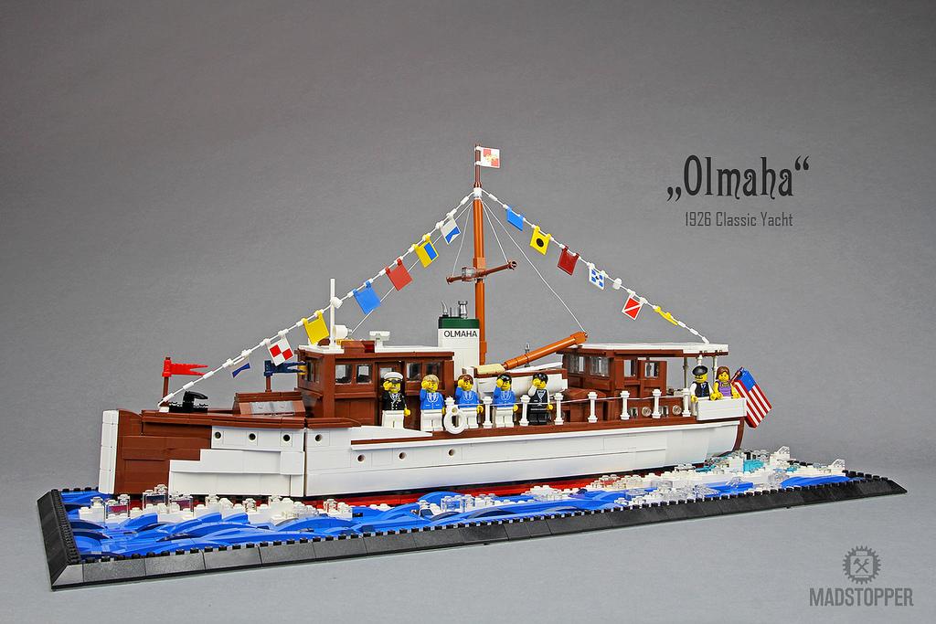 """1929 Classic Yacht """"Olmaha"""""""