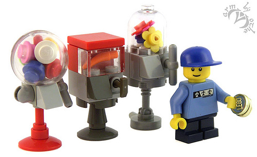 Armothe's LEGO Candy Machines