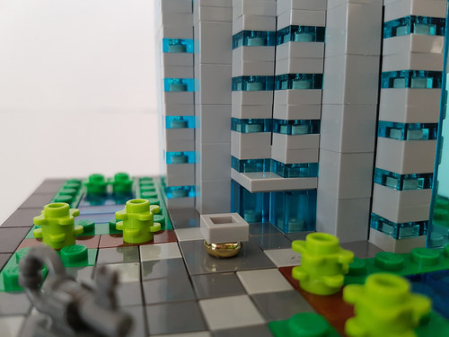 Bank Tower MOC entrance