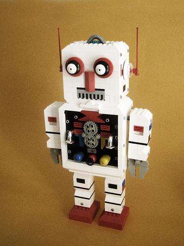 Yo3l retro robot