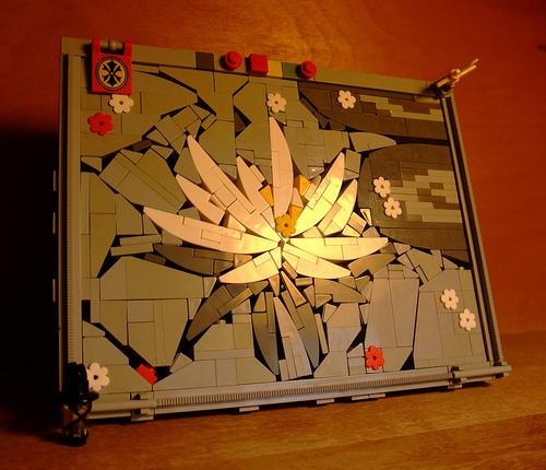Cool LEGO Mosaic
