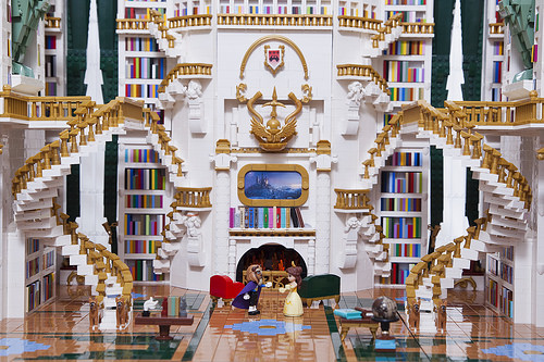Beauty and the Beast Library4