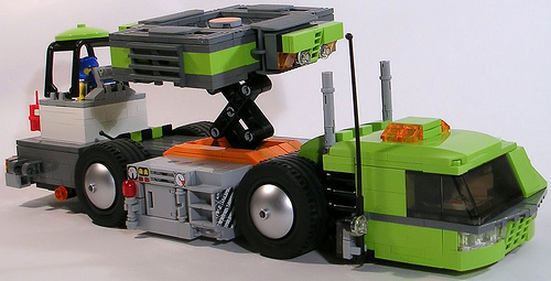 Power Miners Mobile Roof Support